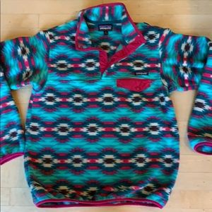 Patagonia Synchilla Aztec pullover fleece
